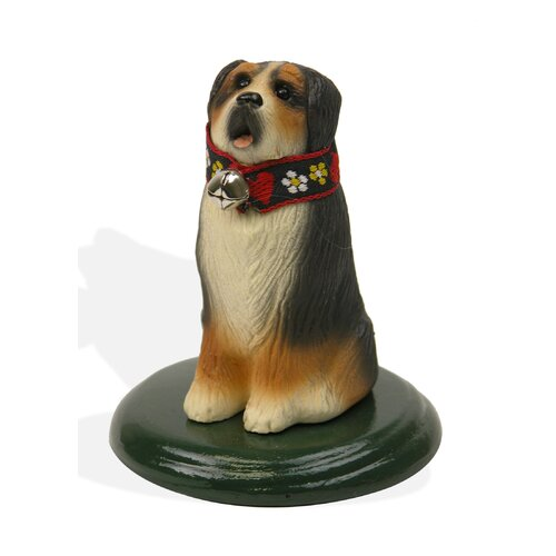 Byers' Choice Bernese Mountain Dog Figurine