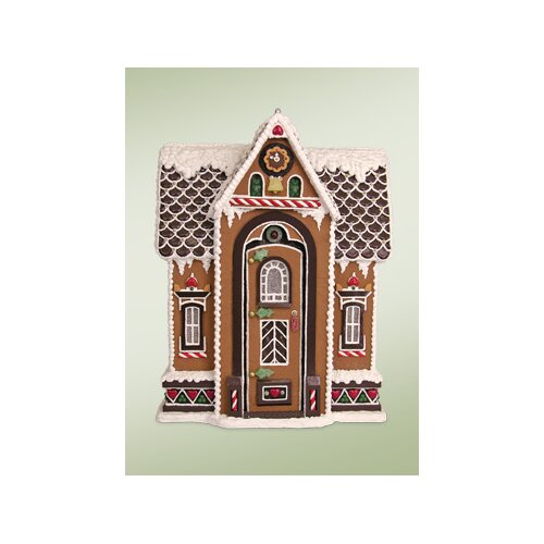 Byers' Choice Santa's Chalet Gingerbread House