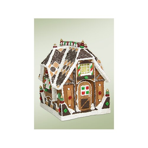 Sweet Bungalow Gingerbread House