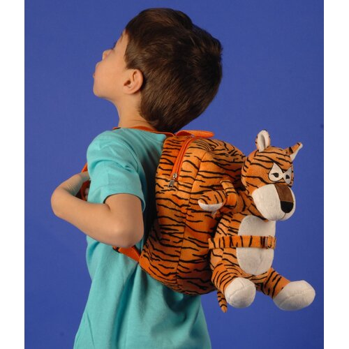 Small Plush Tiger Backpack