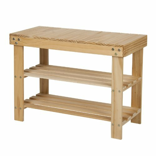 Furinno Pine Solid Wood Shoe Rack