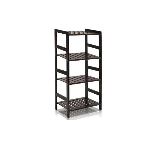 Pine Multimedia 4-Tier Storage Rack