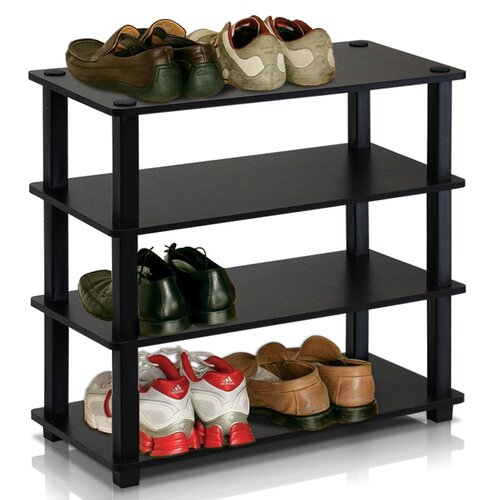 Turn-S-Tube 4-Tier Shoe Rack