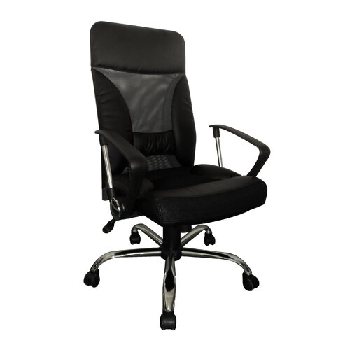 Furinno Hidup High Back Leather Executive Office Chair