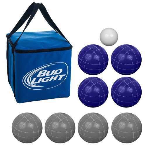 Trademark Global Bud Light Bocce Ball Set