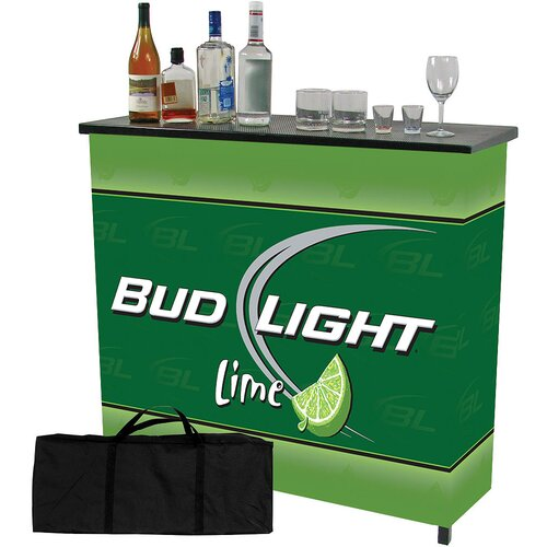 Trademark Global Bud Light Home Bar