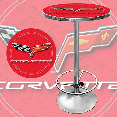 Trademark Global Corvette C6 Pub Table