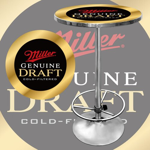 Trademark Global Miller Genuine Draft Pub Table