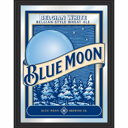 Blue Moon Framed Graphic Art