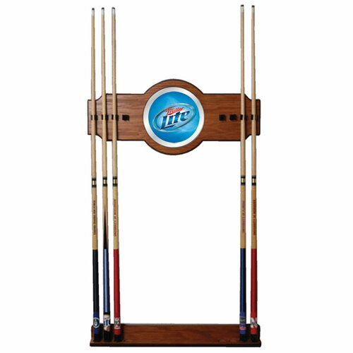 Trademark Global Miller Lite Billiard Cue Rack