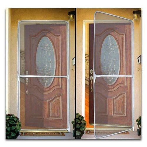 Bug off instant screen door reviews wayfair for Mosquito net for french doors