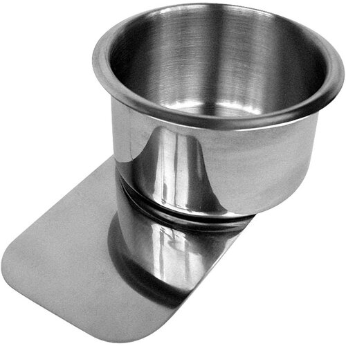 Trademark Global Jumbo Stainless Steel Slide under Cupholder