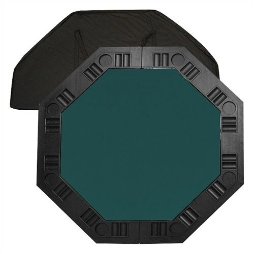 "Trademark Global 48"" Poker Table Top - Dark Green"
