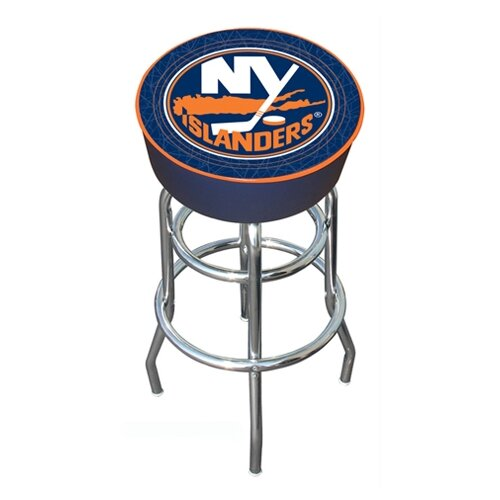 "Trademark Global NHL Montreal Canadians 31"" Bar Stool with Cushion"