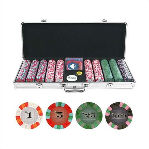 Trademark Global NexGen™ PRO Poker Set With Aluminum Case