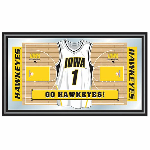 University of Iowa Basketball Framed Graphic Art