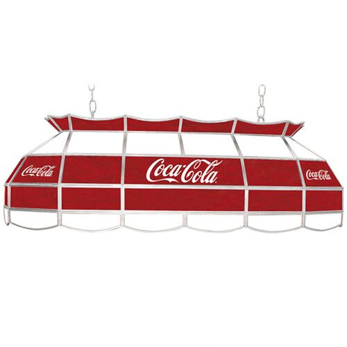 Coca Cola Script V2 Vintage 3 Light Tiffany Vanity Light