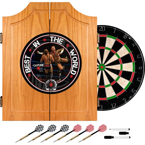 Trademark Global WWE Dart Cabinet Set