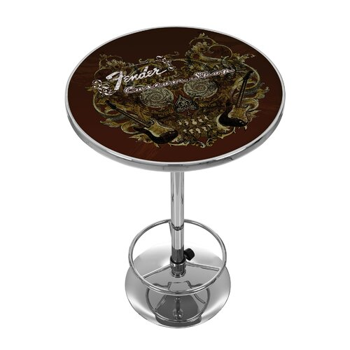 Trademark Global Fender Sea of Sorrow Pub Table