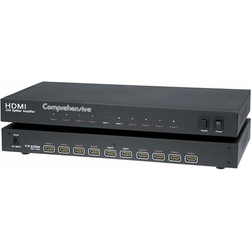 Comprehensive HDMI 2 x 8 Splitter