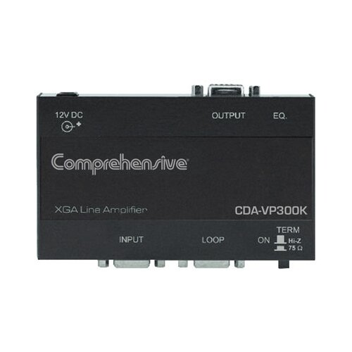Comprehensive 1 x 3 Distribution Amplifiers for U x GA and Higher Resolution Signals