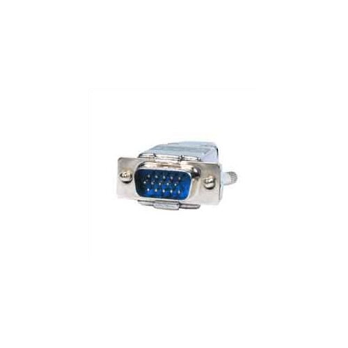 Comprehensive High Density15-Pin (VGA) Male Metal Connector with Hood