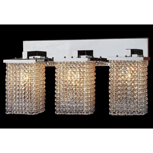 Worldwide Lighting Prism 3 Light Wall Sconce