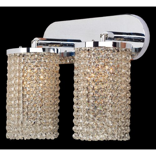 Worldwide Lighting Prism 2 Light Wall Sconce
