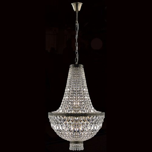 Metropolitan 8 Light Crystal Chandelier