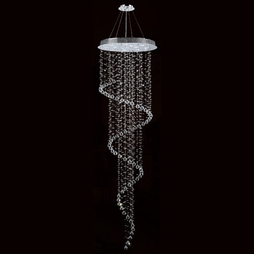 Helix 12 Light Crystal Chandelier
