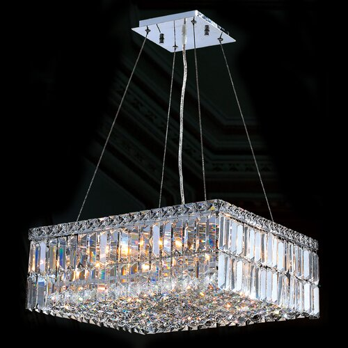 Cascade 12 Light Crystal Chandelier