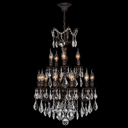 Versailles 15 Light Crystal Chandelier