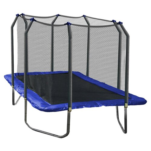 Skywalker Trampolines 15' Rectangular Trampoline with Safety Enclosure