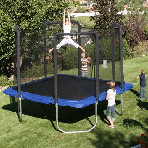 Skywalker Trampolines 13' Square Trampoline with Safety Enclosure