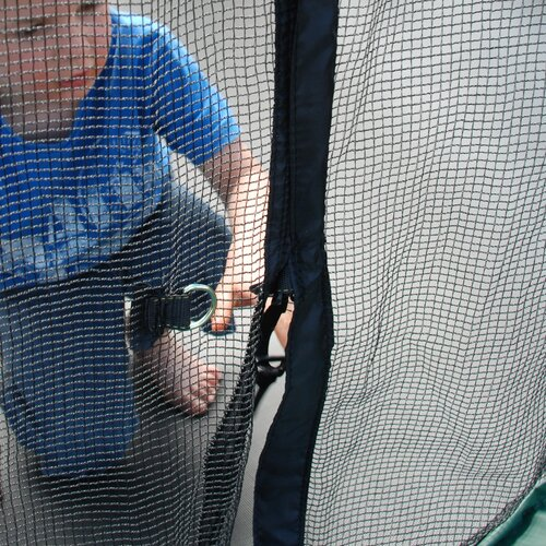 Skywalker Trampolines 11' Square Trampoline with Safety Enclosure