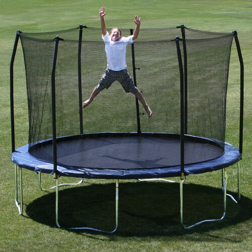 Skywalker 13 Square Trampoline With Safety Enclosure
