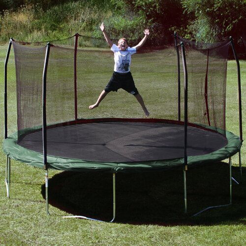 Skywalker Trampolines 15' Round Trampoline with Safety Enclosure