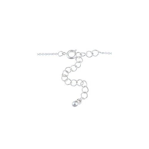 Zirconmania Two Tone 'Cherish' Three Piece Multi-Shapes Whimsical Charm Necklace