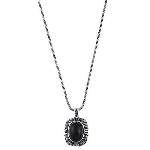 Antiqued Pendant Necklace