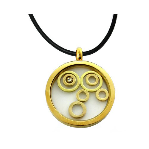 Trendbox Jewelry Captive Coil Necklace
