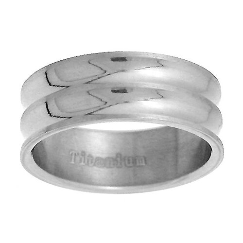 Extra Wide Double Band Ring