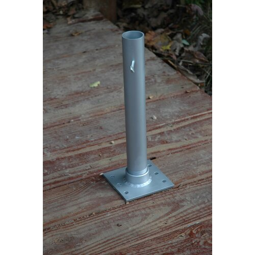 "JTD Enterprises 4"" Flagpole Deck/Dock Mount"