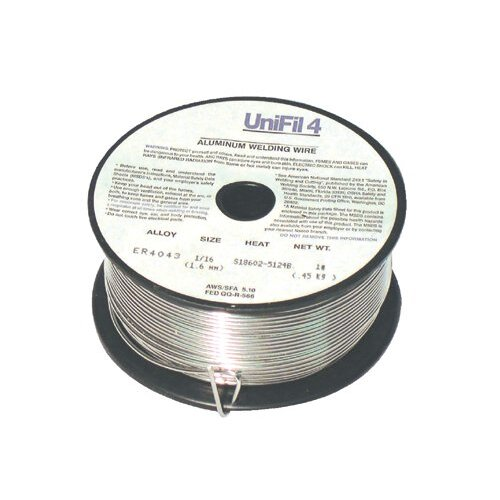 Anchor Aluminum Cut Lengths and Spooled Wires - 4043 3/64x1 (1# spool)