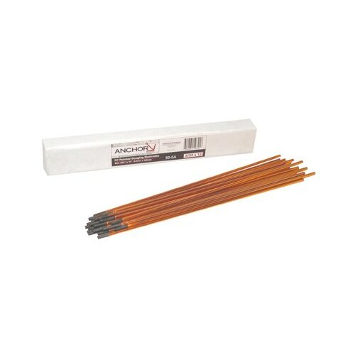 Anchor DC Copperclad Pointed Gouging Electrodes - 5/32x12 dc coppercoated gouging carbons