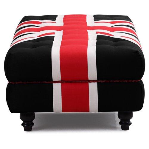 dCOR design Union Jack Ottoman