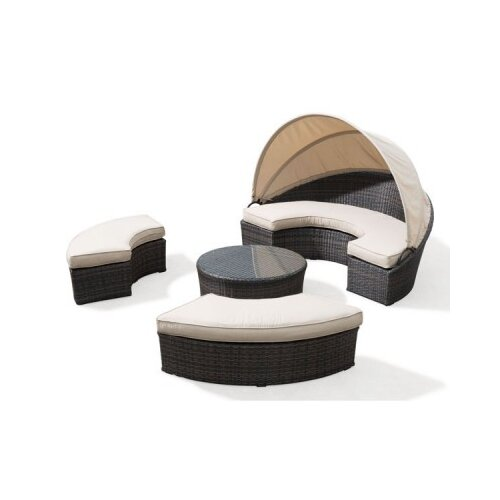 dCOR design Piegon Point Daybed with Cushions