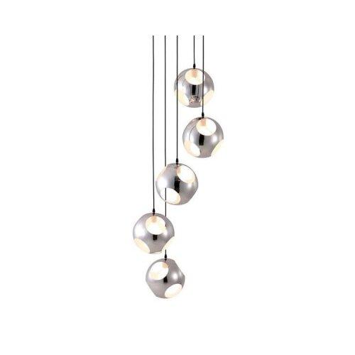 dCOR design Meteor Shower 5 Light Ceiling Lamp