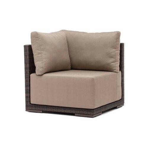 Hospitality Rattan Soho Patio Corner Lounge Chair with