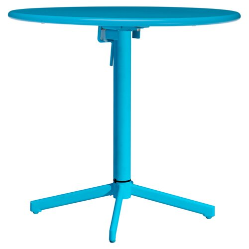 "dCOR design Big Wave 29.9"" Round Folding Table"