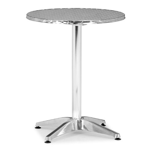 dCOR design Christable Round Folding Bistro Table
